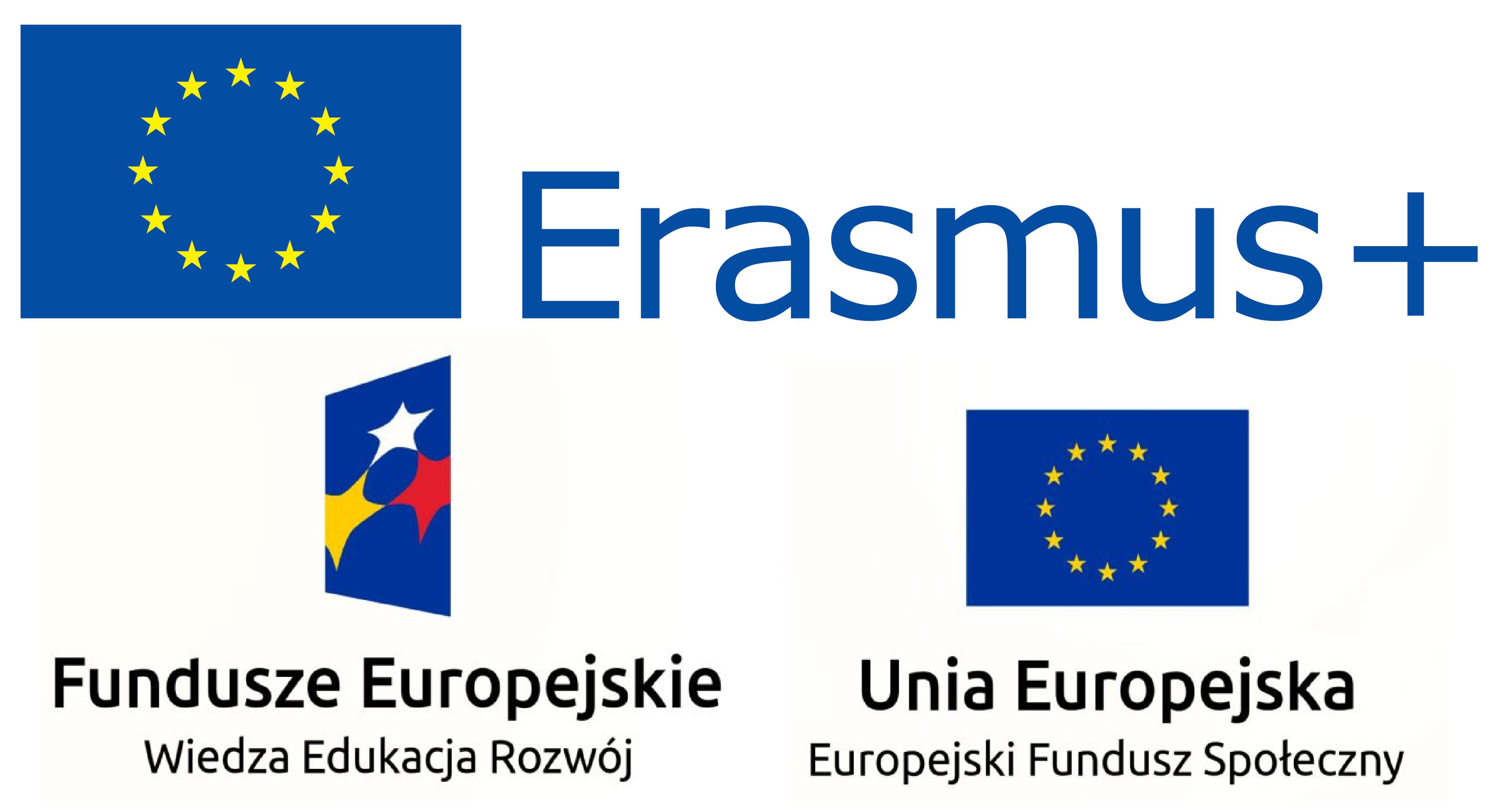 Logo projektów międzynarodowych