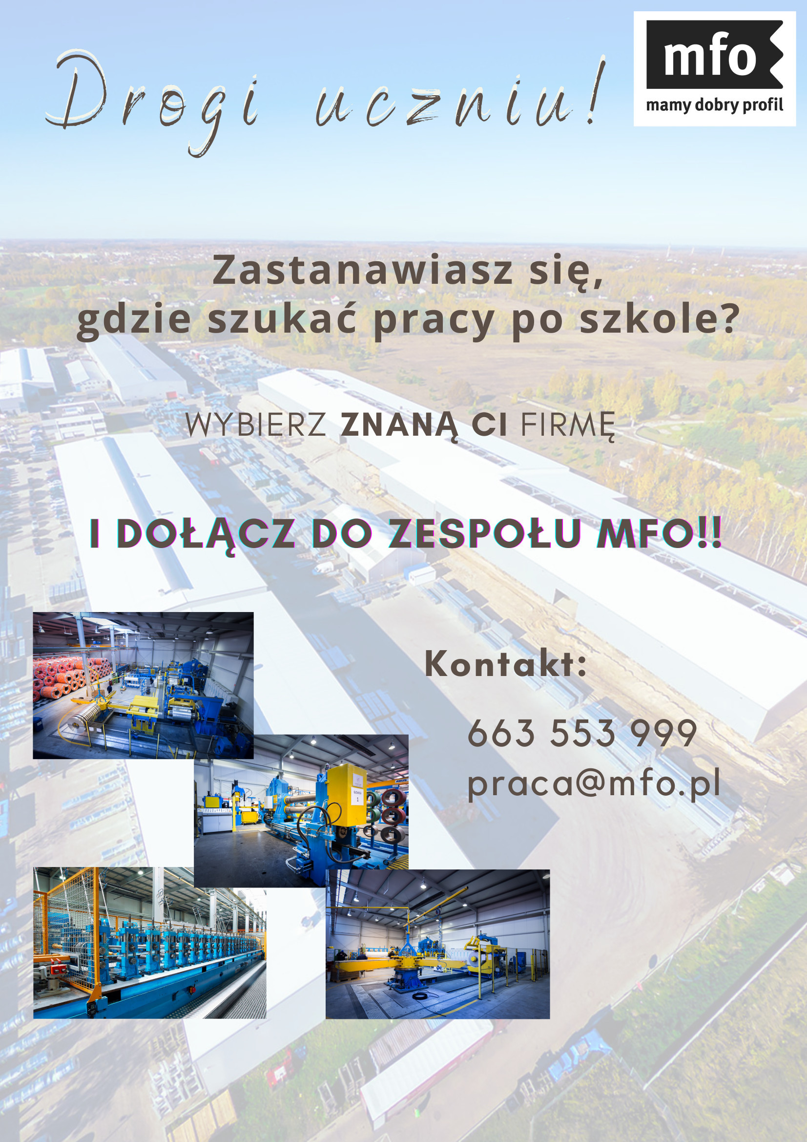 Dołącz do nas i pracuj w MFO